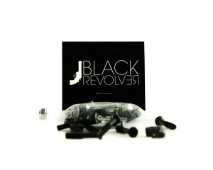 Bolts / Tornillos Black Revolver 2 chrome & 6 blacks