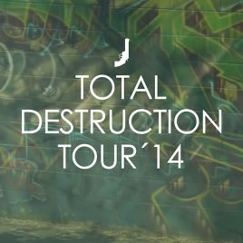 "Black Revolver ""Total Destruction Tour 14"""
