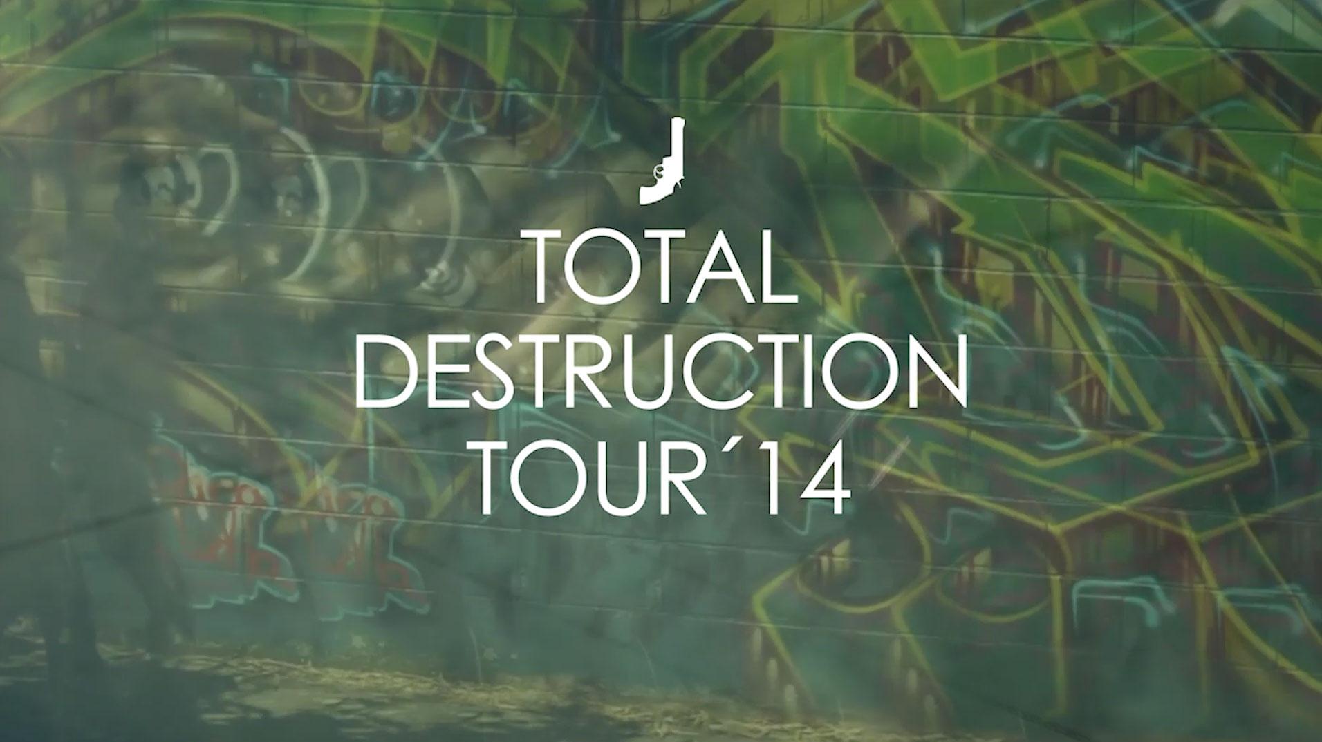 """Black Revolver """"Total Destruction Tour 14"""""""
