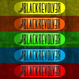 "black revolver skateboard ""colors 01"" series youtube"