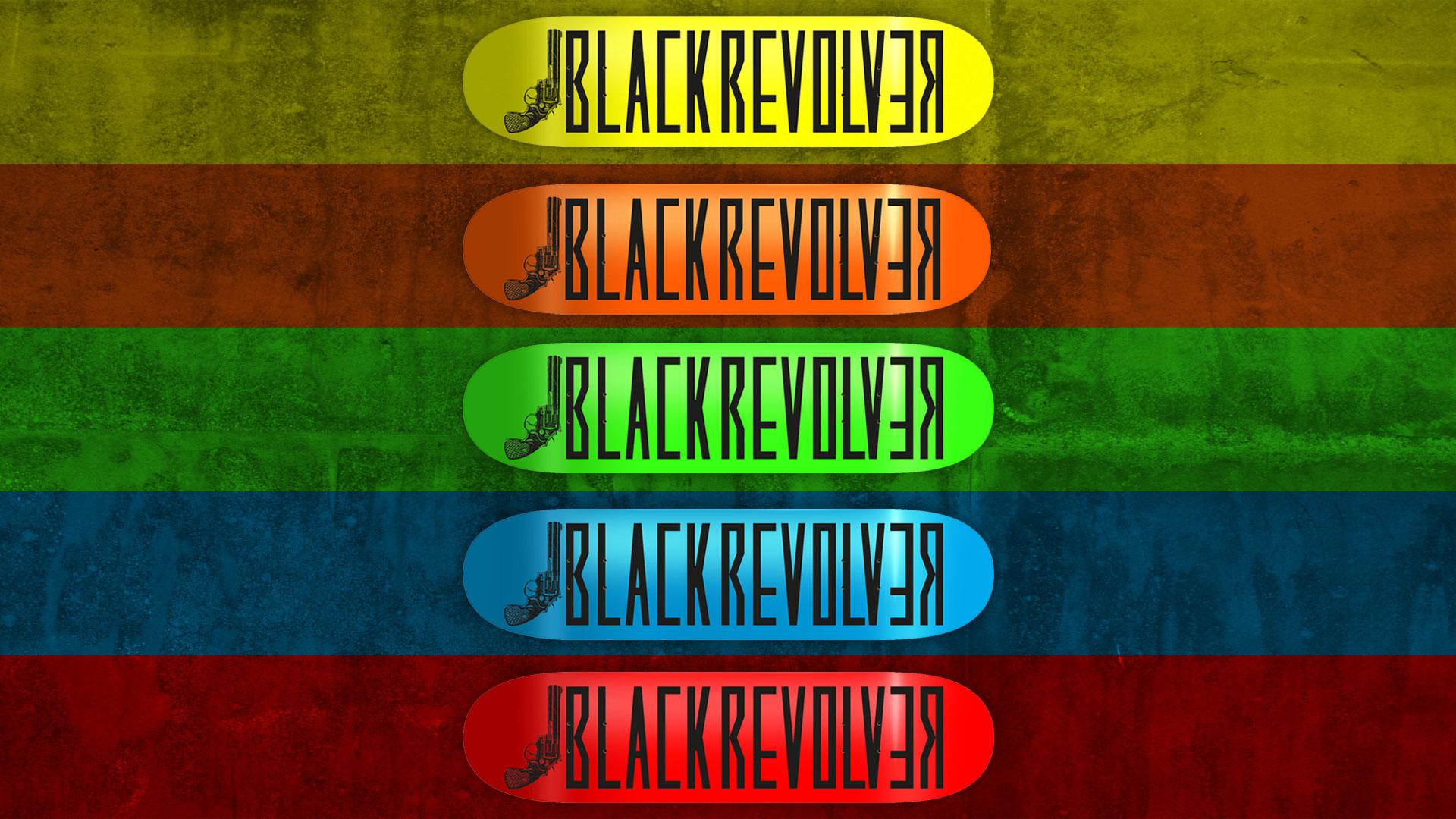 """black revolver skateboard """"colors 01"""" series youtube"""