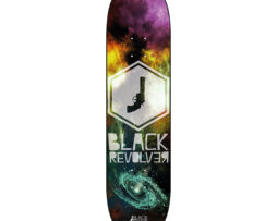 "Black Revolver tabla / deck ""Space Hexa"""