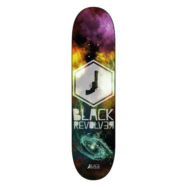 "Black Revolver tabla / deck ""Space Hexa"""