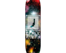 "Black Revolver tabla / deck ""Space Square"""