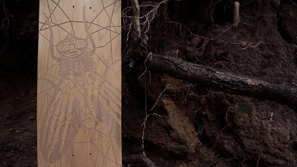 Black Revolver Animalia & Insecta Collective tabla / deck fly catálogo no25