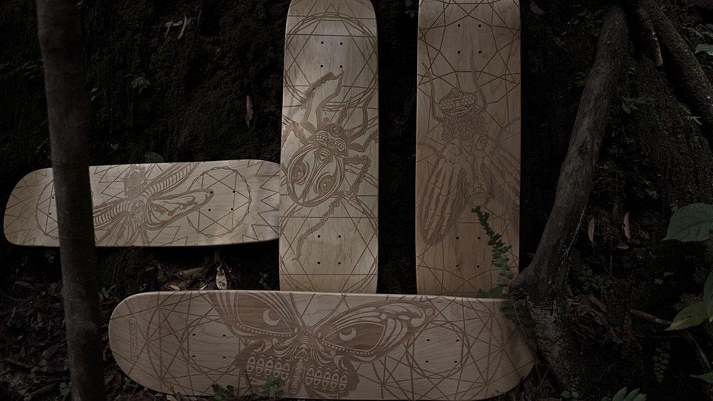 Black Revolver Animalia & Insecta Collective tabla / deck catálogo no28