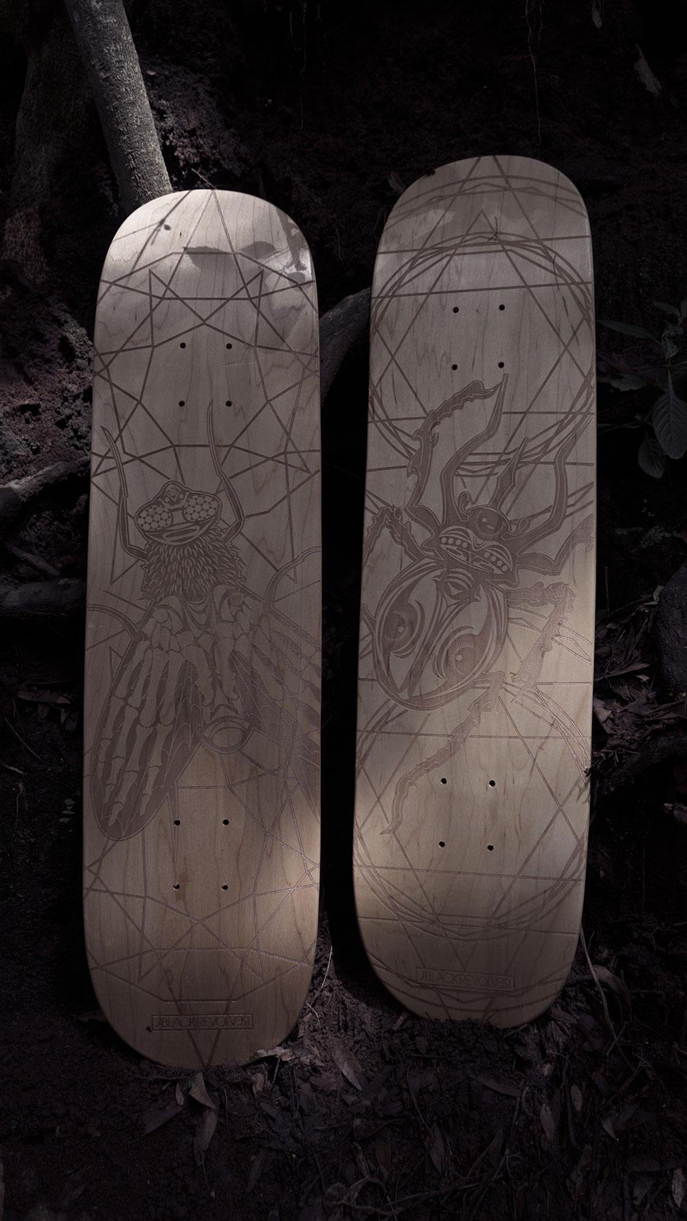 Black Revolver Animalia & Insecta Collective tabla / deck catálogo no29