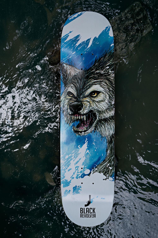Black Revolver Animalia & Insecta Collective tabla / deck wolf catálogo no31