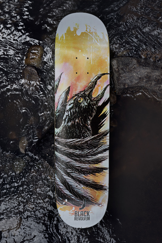 Black Revolver Animalia & Insecta Collective tabla / deck raven catálogo no32
