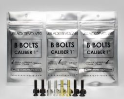 black revolver bolts product