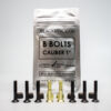 black revolver bolts 2 gold 6 blacks