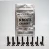 black revolver bolts 8 blacks