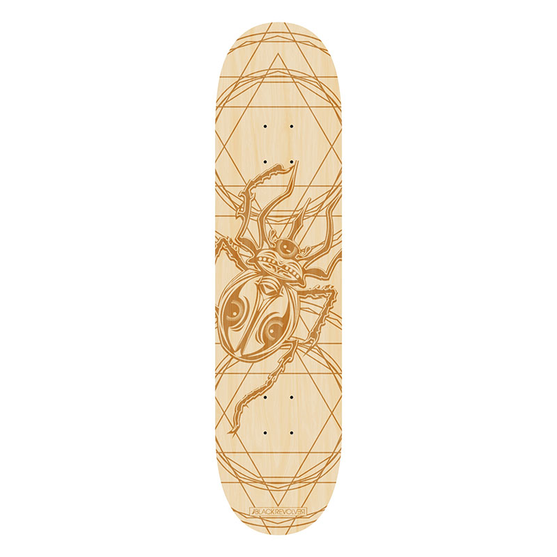 Black Revolver animalia & insecta collective beetle deck