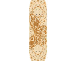 Black Revolver animalia & insecta collective mariposa deck
