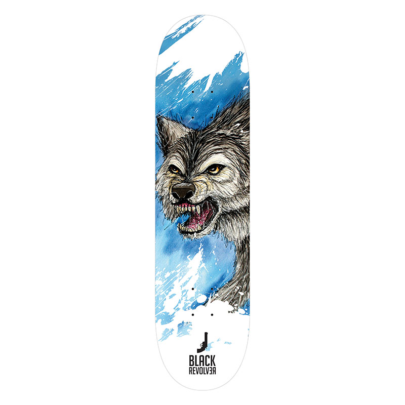 Black Revolver animalia & insecta collective wolf deck