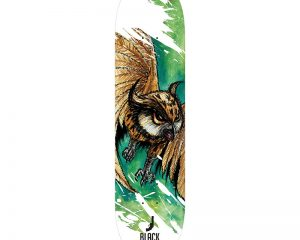 Black Revolver animalia & insecta collective owl deck