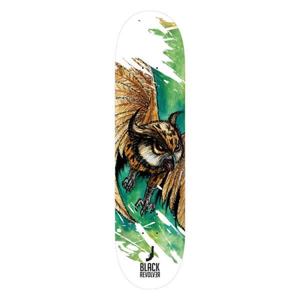 Black Revolver animalia & insecta collective owl deck