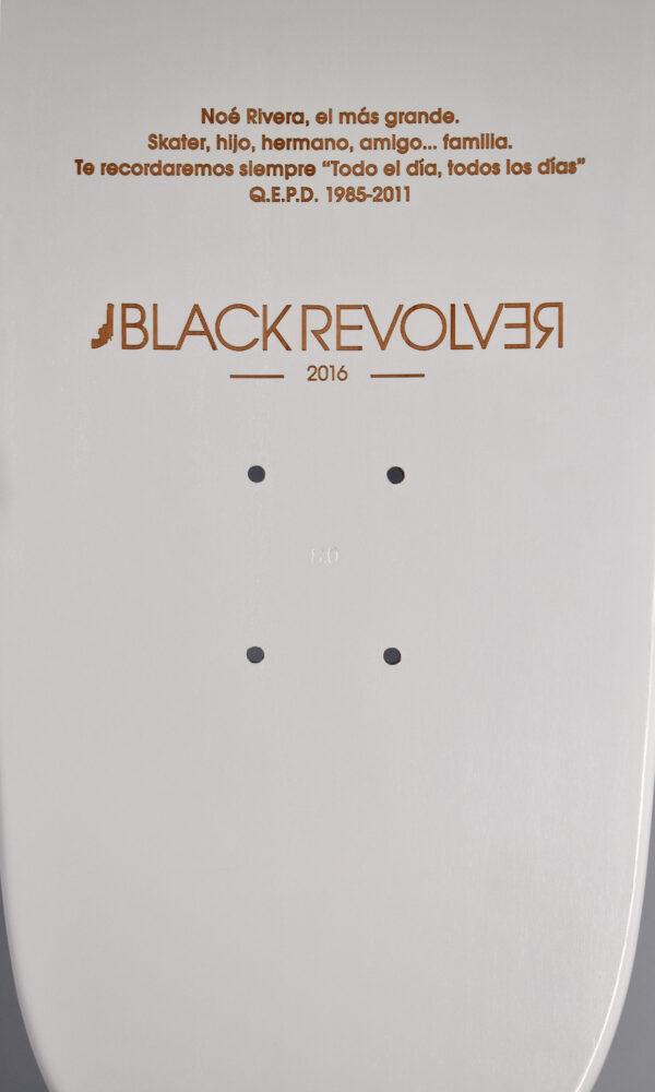 Noé Rivera x Black Revolver skateboard deck 12