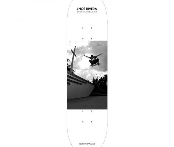 Noé Rivera Skateboard Deck x Black Revolver