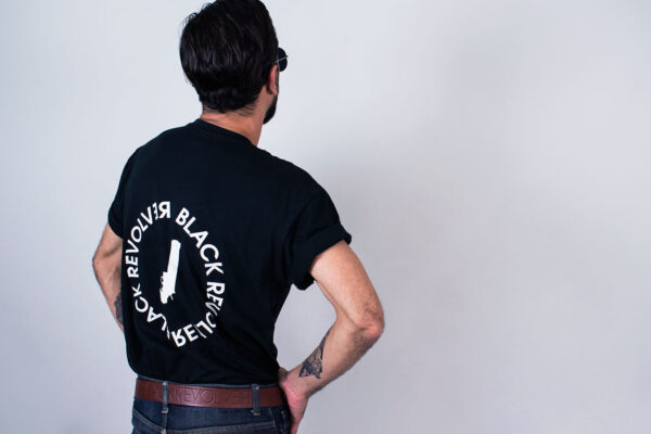 Black Revolver Apparel / Seal Ring Tee
