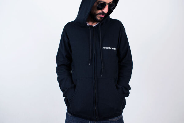 Black Revolver Apparel / Seal Ring Hoodie