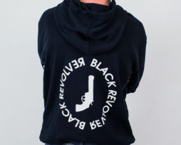 Black Revolver Apparel / Seal Ring Hoodie featured
