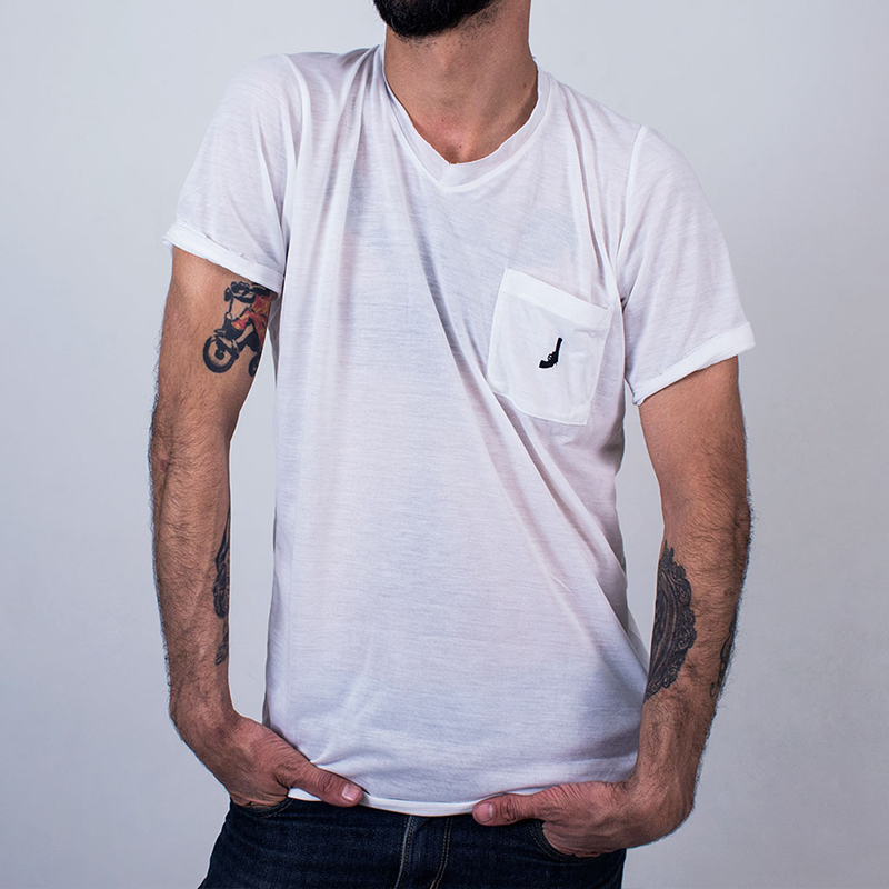 Black Revolver Apparel / Classic V Neck Tee featured