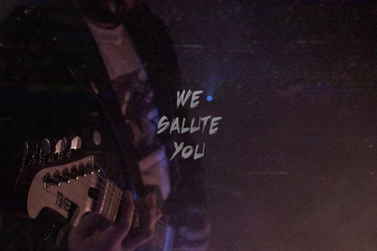 we salute you Black Revolver X Artefact Skate Guitar