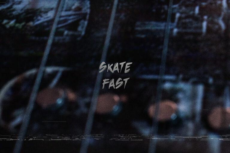 skate fast Black Revolver X Artefact Skate Guitar