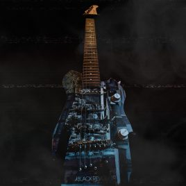 Black Revolver X Artefact Skate Guitar