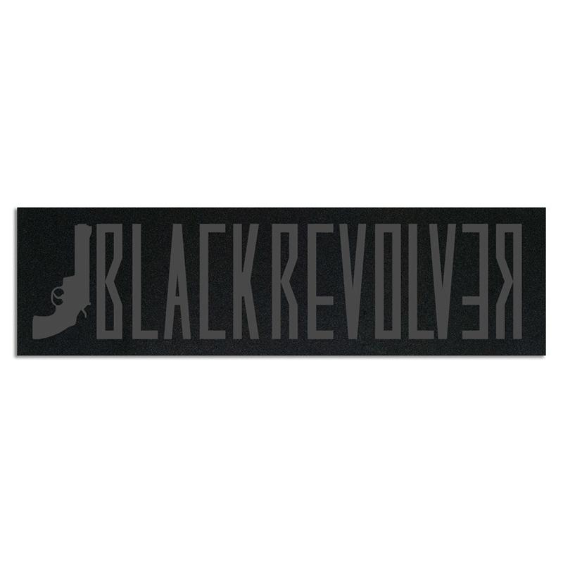 Black Revolver griptape minilogo
