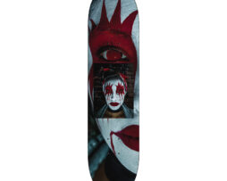 Black Revolver x Jika L.A. Ghouls Skateboards Blood kiss
