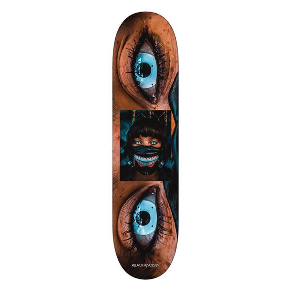 Black Revolver x Jika L.A. Ghouls Skateboards Kane