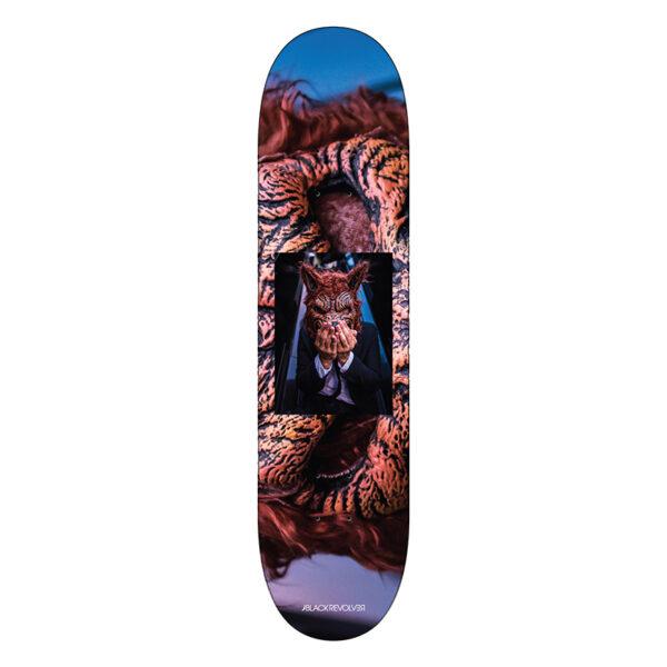 Black Revolver x Jika L.A. Ghouls Skateboards Kane Wolfman