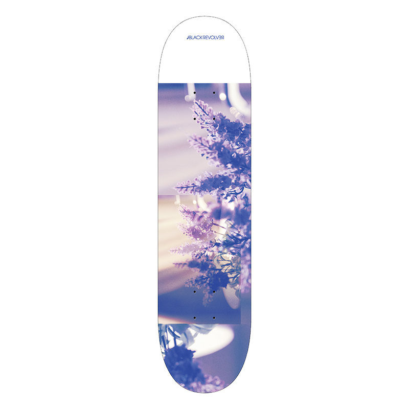 black revolver beautiful death weird dream skateboard deck
