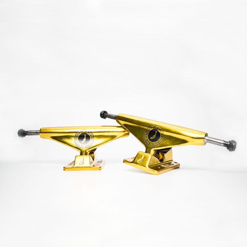 black revolver trucks seal gold