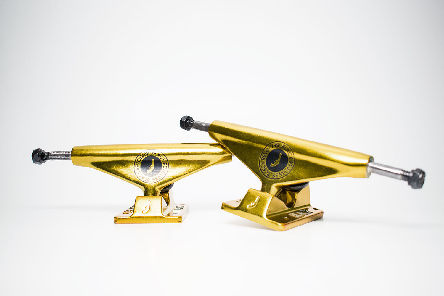 Seal Gold Black Revolver Trucks