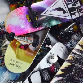 Complete skateboards Black Revolver