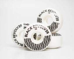 black revolver wheels whites revolvers