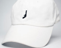 Revolver logo icon dad hat white