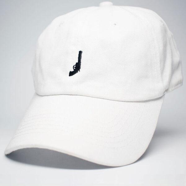 Revolver logo icon dad hat white