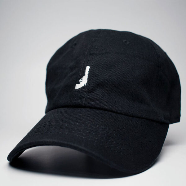 Revolver logo icon dad hat black