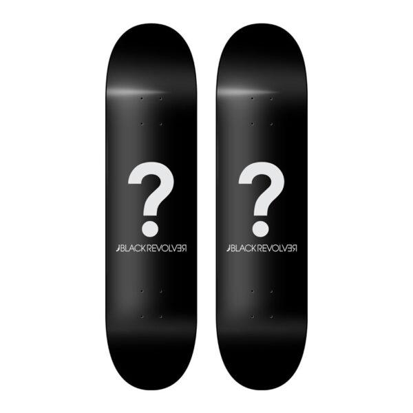 Black Revolver Mystery Skateboards