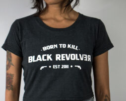 black revolver born to kill grey