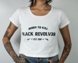 black revolver born to kill white