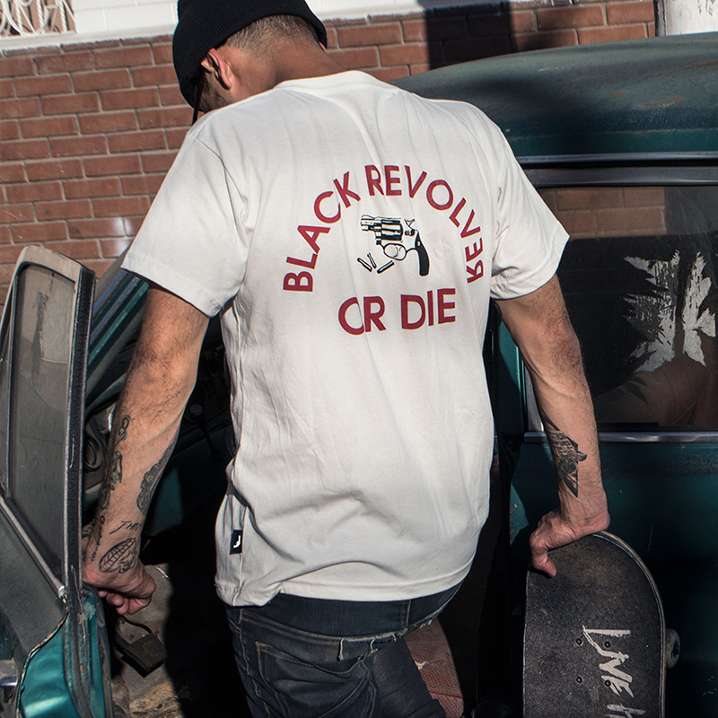black revolver or die t shirt